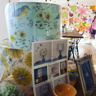 The next few posts are going to be dedicated to our beautiful local concessions that supply our gift shop @flowersbyfredricka  These stunning products are from the lovely @seedhomedesigns we stock their beauiful handcarfted lampshades, cards and bunting!  #homedesign #giftshop #flowersbyfredricka #kegworth #organic #fabric #lampshade #cards #bunting #shoplocal #eastmidlands